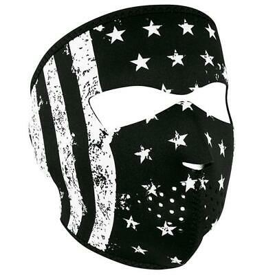 Patriotic Motorcycle and Cold Weather Full Face Masks