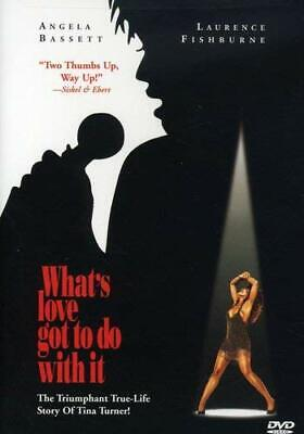 What's Love Got To Do With It? Angela Bassett Jamie Anderson R DVD Drama NEW