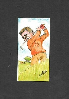 1993 Ritchie & Co - Fairway Favourites - Tony Jacklin - No 10 golf card