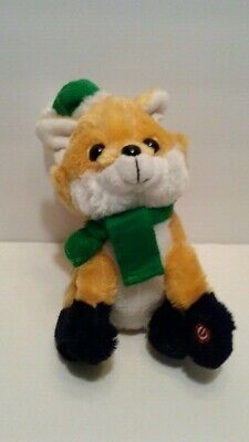 Rare Cuddle Barn The Fox Animated Plush Toy  What Does The Fox Say Dances Sing Sonstige Bean-Bags Stofftiere & Kuscheltiere