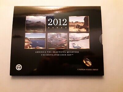 2012 America the Beautiful Quarters Uncirculated Coin Set, with OGP