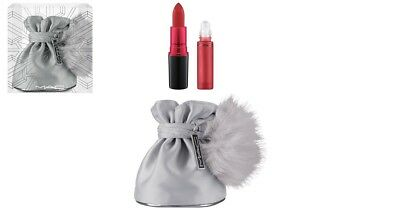 MAC snow ball shadescents kit - RUBY WOO - fragrance lipstick & bag - new boxed