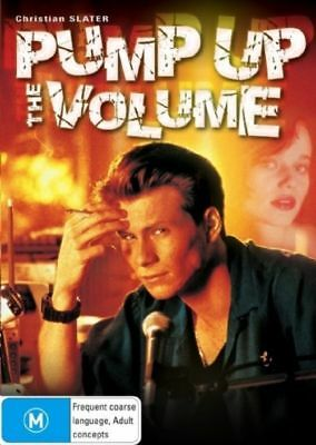 Pump Up the Volume (DVD) 1990 90'S MOVIE - Christian Slater - RARE !