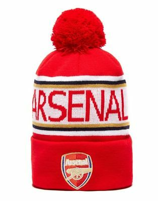 Arsenal Pom Pom Beanie - Official Club Top Quality PUMA Brand - New w/Tags