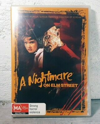 Nightmare On Elm Street (DVD, 2005) Freddy Krueger Horror Movie