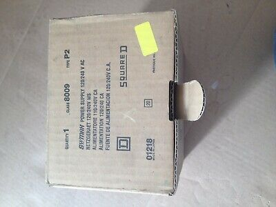 squared d class 8009 type p2 sy/max power supply 120/240v
