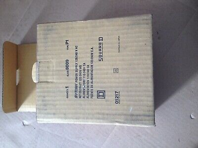 squared d class 8009 type p1 sy/max power supply 120 / 240v