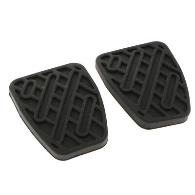 2pcs Brake / Clutch Pedal Rubber Covers 46531JD00A For Nissan Qashqai
