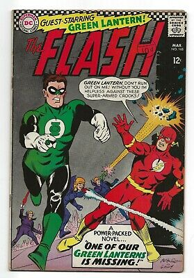 DC The Flash #168 Silver age Pence copy 1967 (1959 series)