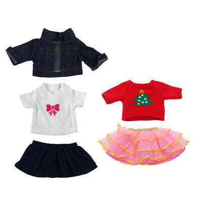 2suit Clothes for 18'' AG American Doll Dolls Dress Jeans Outfit Shirts Sweater
