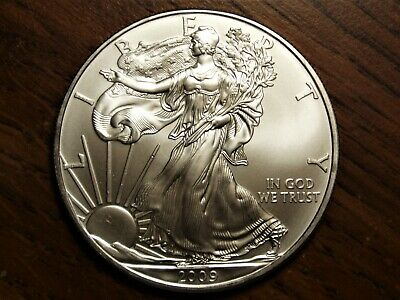 2009 American Silver Eagle - Brilliantly Uncirculated