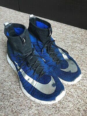 f5d581a6f633 Nike Free Flyknit Mercurial FC CR7 Superfly Racer Blue Size 11 UK Used Co