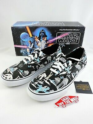 9a332a8e82 VANS Star Wars shoes Dark Side Planet Hoth UNISEX Mens 10.5 Womens 12.0  sneakers