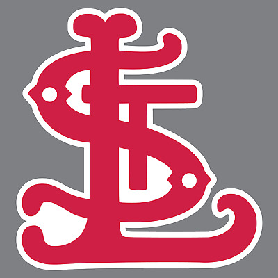 Vintage St. Louis Cardinals Vinyl Sticker / Decal *MLB*NL* Central *Baseball*MO*