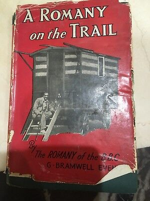 Acceptable - A Romany on the Trail Gypsy Book