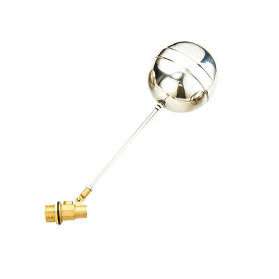 Brass Float Valve (Ball-cock) and Float| for Water Tank,cattle drinkers DN15