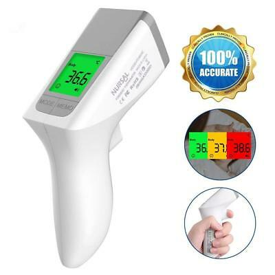Fieberthermometer Stirnthermometer Dual-Modus Digital Infrarot Thermometer