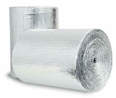"""Reflective Rb4825050 48/"""" X 250/' Roll Radiant Barrier 1000sqft"""