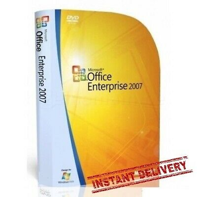Microsoft Office Enterprise 2007 English (Download + Key) Instant Delivery 30s
