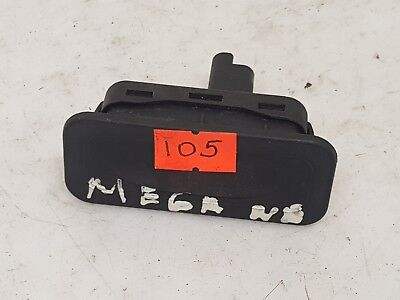 Renault Megane 2003 Lhd Rear Tailgate Boot Open Switch Knob 8200076256 88000001