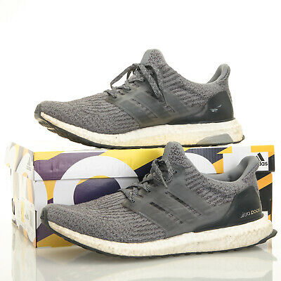 55d1efba0c2ef NOW SHIPPING! ADIDAS Ultra Boost 3.0 Running Shoes Mystery Grey Size ...