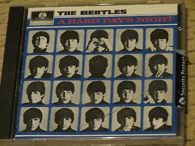 NEW/SEALED The Beatles - A Hard Day's Night (1988 EMI CD with cracked jewel case