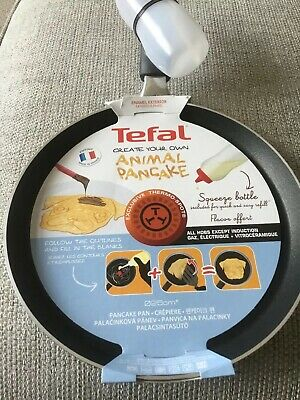 Tefal Pug Pancake/Crepe Pan With Easy Squeeze Bottle