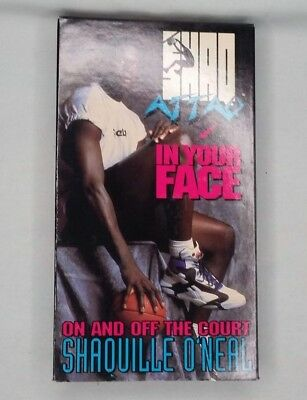 9a244488ba8b SHAQ ATTACK - In Your Face   Michael Jordan -To The Max  2 VHS ...