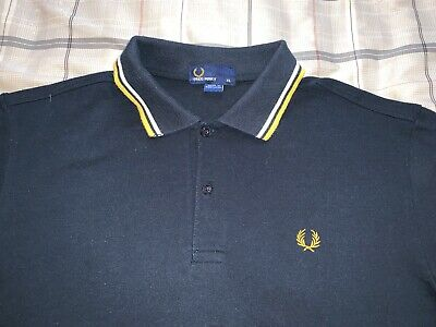 7e0b0dc7b VINTAGE FRED PERRY Twin Tipped Polo Rugby Shirt Men's Size XL ...