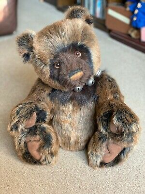 """Charlie Bears 22"""" Plush DALLINGER (CB131374) - With Tags & Bag - Hard To Find"""