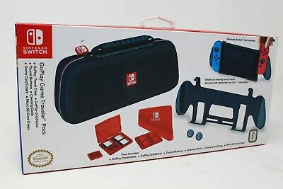 Nintendo Switch GoPlay Game Traveler Pack (Traveler Case+GripStand and More) NEW