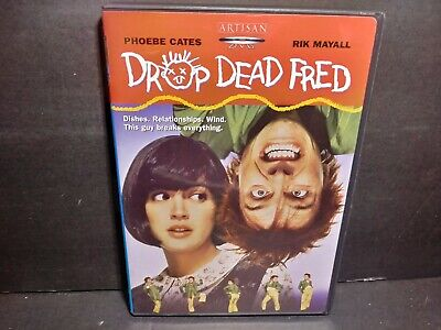 Drop Dead Fred (DVD, 2003) Phoebe Cates B344