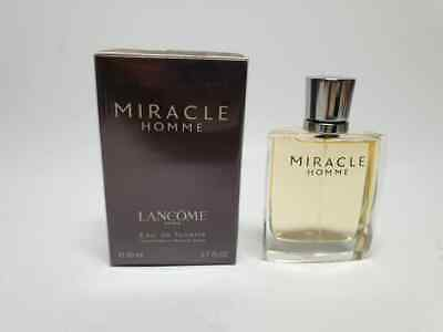 Lancome Miracle Homme EDT 50ml Spray New & Rare