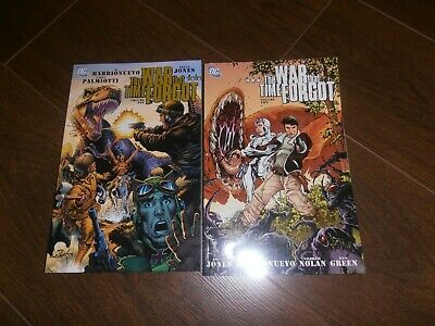THE WAR THAT TIME FORGOT DC comics TPB graphic novel volume 1 and 2