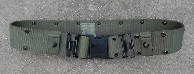 US Military LC2 Individual Equipment Web Pistol Belt Nylon Green Alice