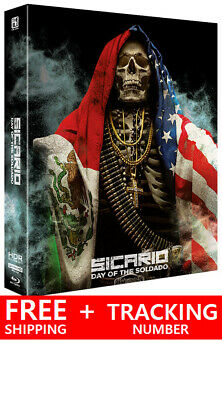Sicario : Day of the Soldado (4K UHD + Blu-ray) LENTICULAR STEELBOOK /Region ALL