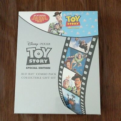 TOY STORY Disney Pixar Blu Combo Pack Collectible Gift set NEW Factory Sealed
