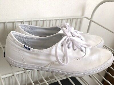 7a828bed13a Keds Champion Original Canvas Size 7.5 Women s White Sneakers