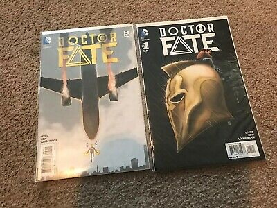 Doctor Fate #1 1:25 Variant 1st Appearance of Khalid Nassour And Bonus 2