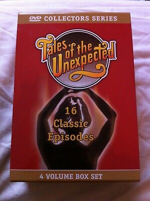 Tales Of The Unexpected - 4 volume box set (OOP region-free PAL DVD set)