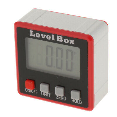 Digital Level Box Protractor Angle Level Gauge Bevel Inclinometer