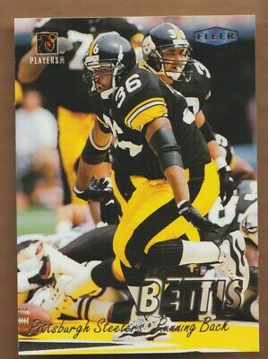 JEROME BETTIS 1997 Fleer PROMO Playstation NFL Players Party No # Steelers '97