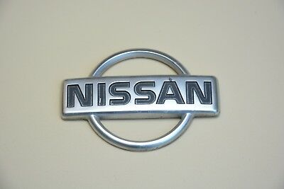 Original Nissan  Original Emblem Rear  Logo Crome Used Badge Oem Genuine Factory