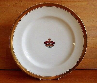 Late 18Th Early 19Th Century Nast A Paris Porcelain Plate Painted With A Crown
