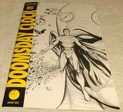 Dc Comics Doomsday Clock # 1D 11.57Pm Sketch Variant