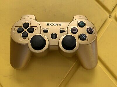 Genuine OEM PS3 Official Sony GOLD Wireless Dualshock 3 Controller