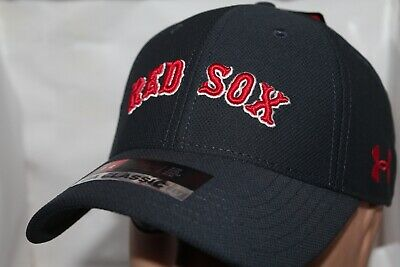 free shipping ac439 d31f3 Boston Red Sox Under Armour MLB Basic Team Stretch Fit Cap,Hat   30.00 NEW