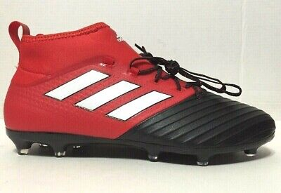 80f8d208b Adidas Ace 17.2 Primemesh FG Soccer Cleats Red Black BB4324 Mens Size 8