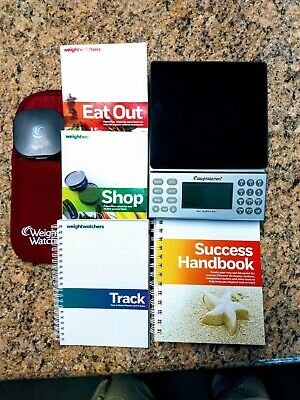 Weight Watchers PointsPlus Calculator Food Scale Bundle - Track Eat Out Shop!