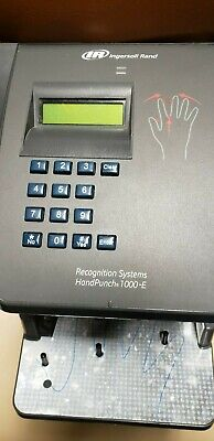 INGERSOLL RAND RECOGNITION Systems HandPunch HP-1000 Scanner